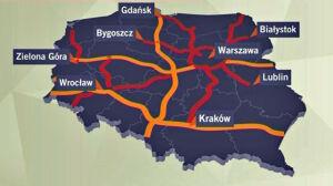 Warszawa w 2030 roku: [br]z obwodnicą i wylotówkami