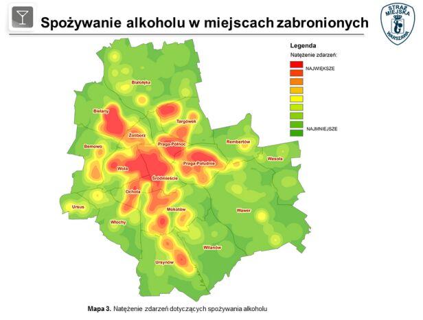 Zdarzenia dotyczące picia alkoholu straż miejska