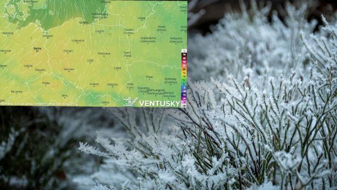 """""""Autostrada dla zimna z północy"""" nad Polską. <br />A kiedy będzie cieplej?"""