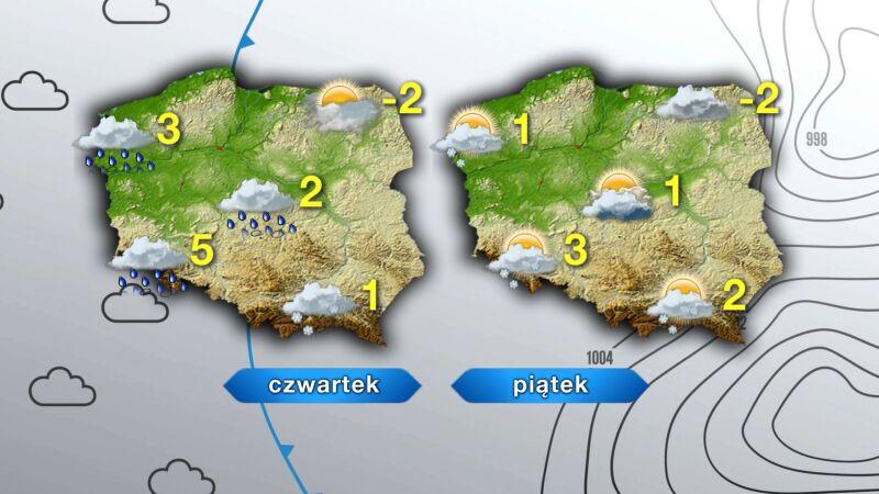 Prognoza pogody na czwartek i piątek