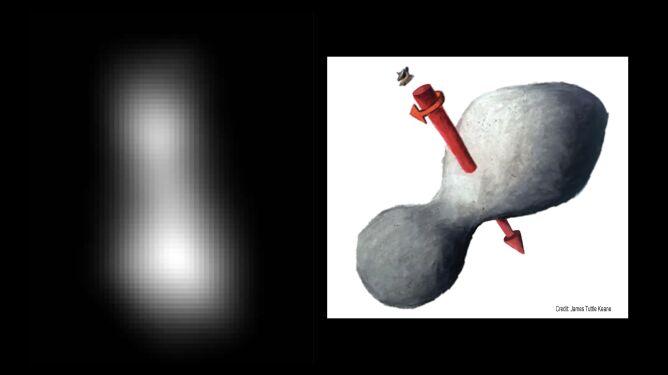 Pierwszy obraz Ultimy Thule (NASA)