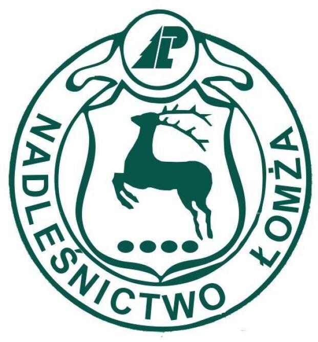 Logo Nadleśnictwa Łomża