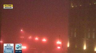 Poranna mgła w Polsce